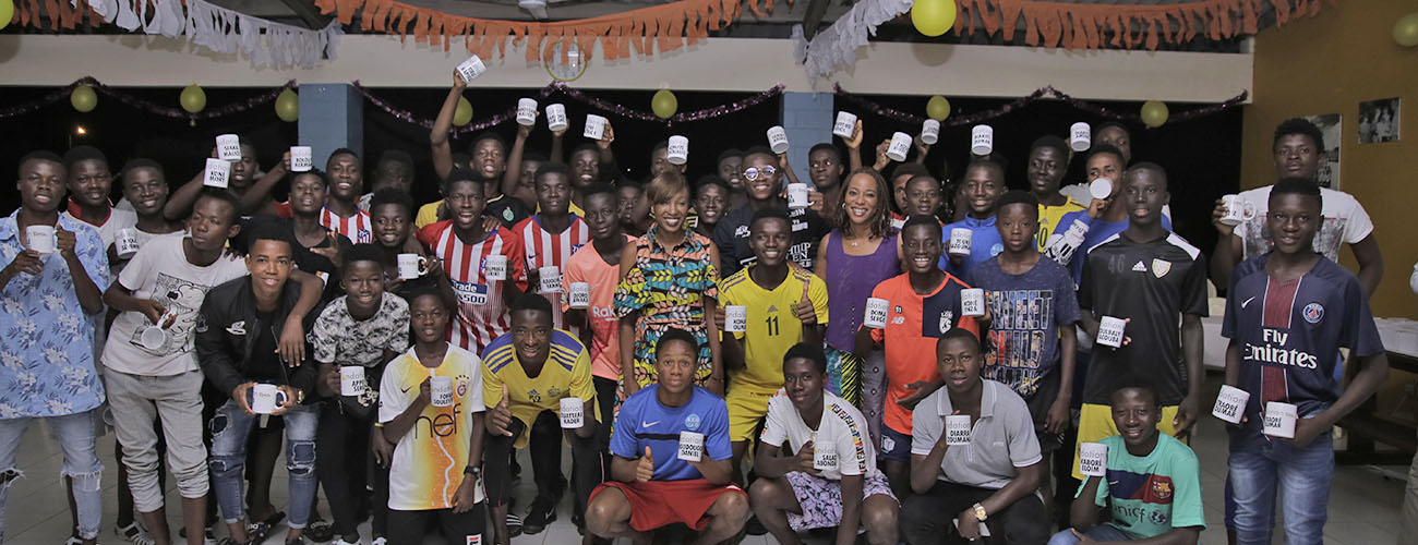 SIFCA Foundation celebrates the Football Academy Students