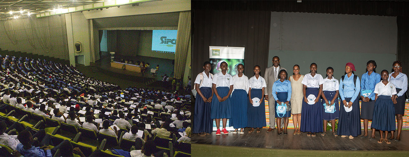 SIFCA's women sensitize the INP-HB girls