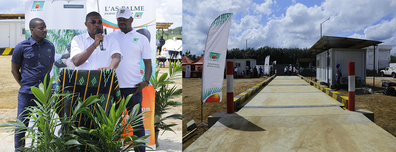 PALMCI: Inauguration of the Djiminikoffikro advanced weighbridge - Adiake